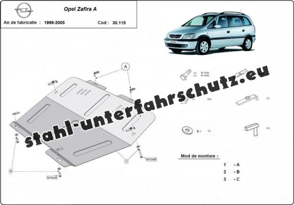Hook Anhängerkupplung starr für Opel Combo C 02-11 mit 13pol Elektrosatz NEU ABE