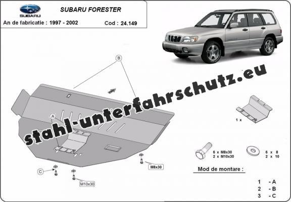unterfahrschutz f u00fcr motor der marke subaru forester 1