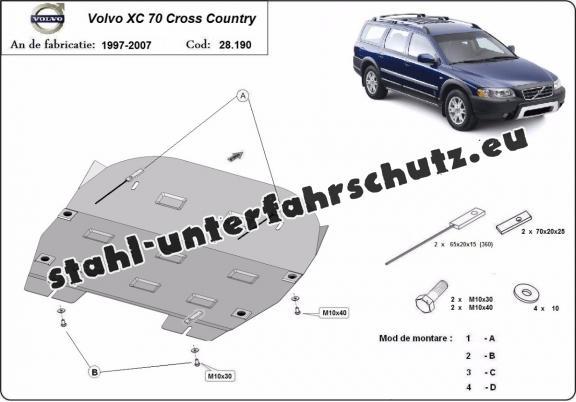 unterfahrschutz f u00fcr motor der marke volvo xc70 cross country