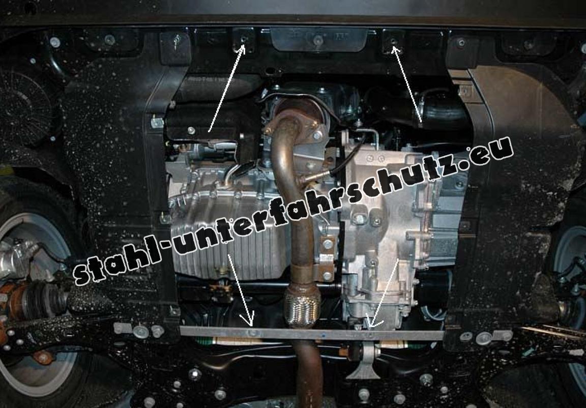 unterfahrschutz f r motor und getriebe aus stahl f r fiat. Black Bedroom Furniture Sets. Home Design Ideas
